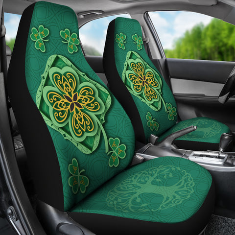 Irish Shamrock Car Seat Covers 3