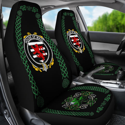 Maul or Maule Ireland Shamrock Celtic Irish Surname Car Seat Covers TH7
