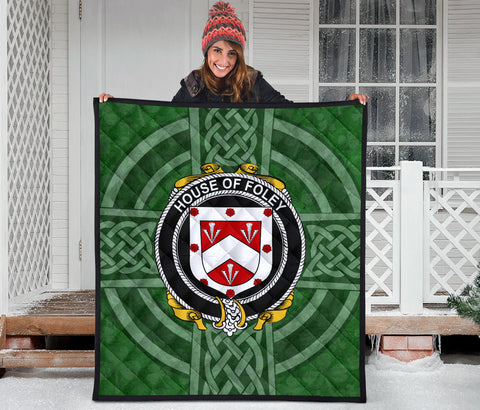 Ireland Clan Quilt - Foley | 1stireland.com