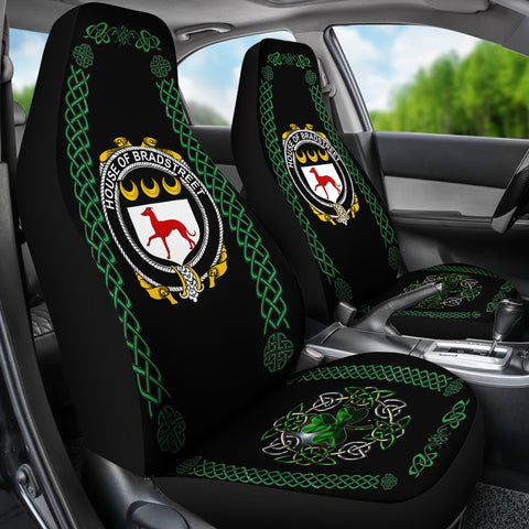 Bradstreet Ireland Shamrock Celtic Irish Surname Car Seat Covers TH7