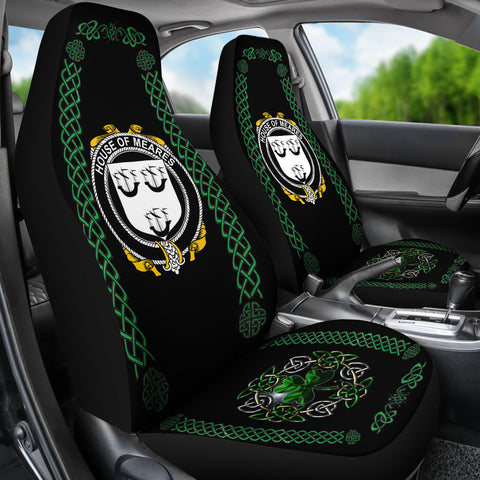 Image of Meares Ireland Shamrock Celtic Irish Surname Car Seat Covers TH7
