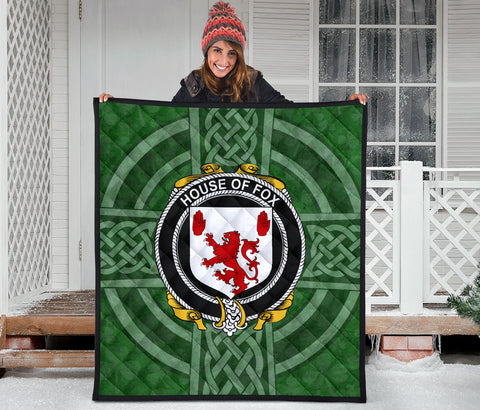 Ireland Clan Quilt - Fox | 1stireland.com