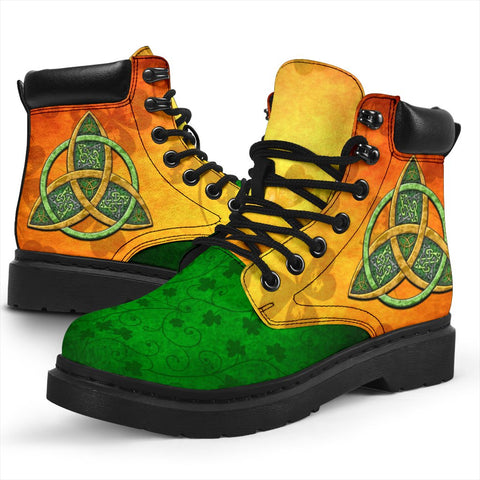 Ireland All-Season Boots Celtic Trinity Knot