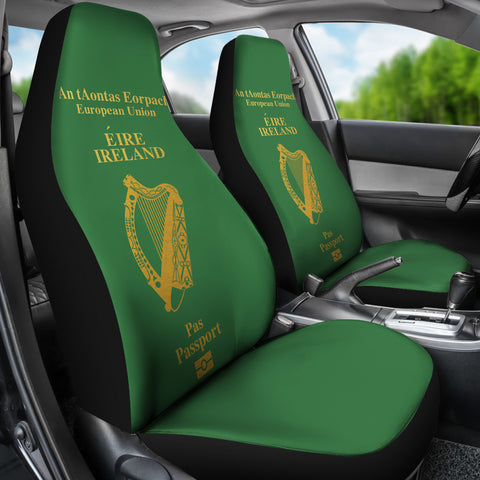 Image of Ireland Passport Car Seat Covers ( Set Of 2)