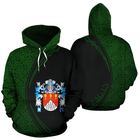 Fagan Family Crest Hoodie Irish Circle Style | 1st Ireland