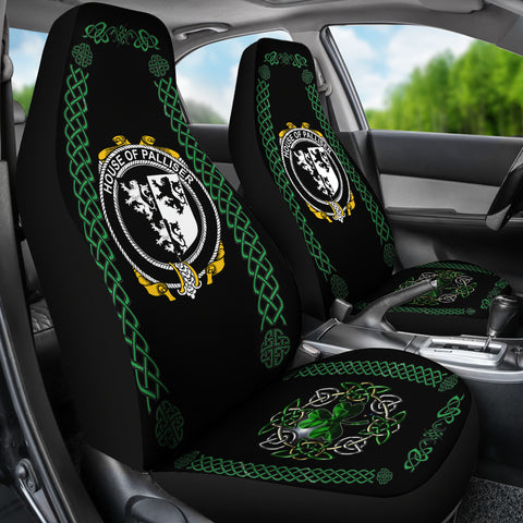 Palliser Ireland Shamrock Celtic Irish Surname Car Seat Covers TH7