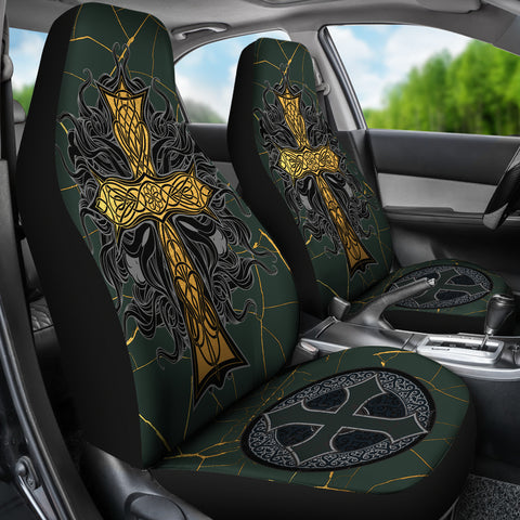Celtic Car Seat Covers - Celtic Cross