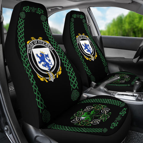 Fitz-Rery Ireland Shamrock Celtic Irish Surname Car Seat Covers TH7