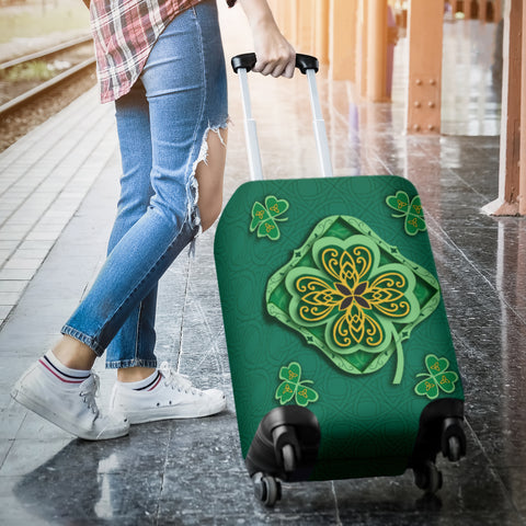 Irish Shamrock Luggage Covers 3