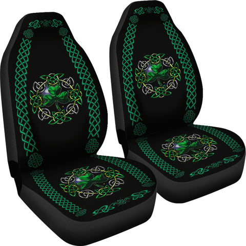 Celtic Shamrock Car Seat Covers ( Set of 2)