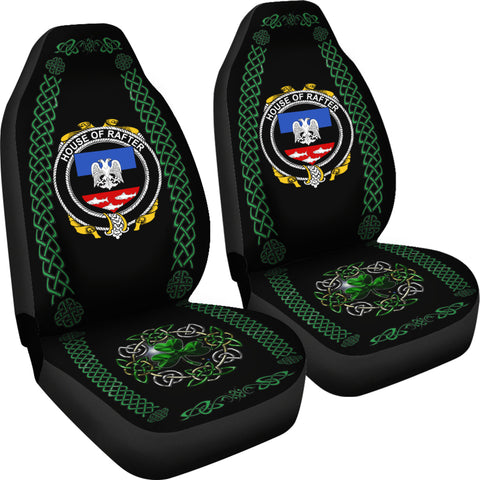 Rafter Ireland Shamrock Celtic Irish Surname Car Seat Covers TH7