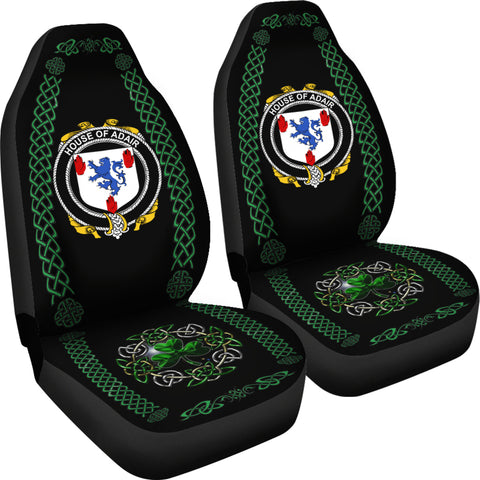 Adair Ireland Shamrock Celtic Irish Surname Car Seat Covers TH7