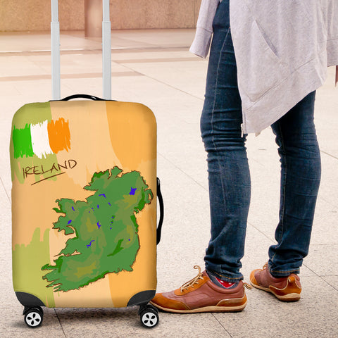 Love Ireland Luggage Cover