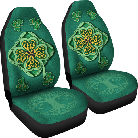 Irish Shamrock Car Seat Covers 4