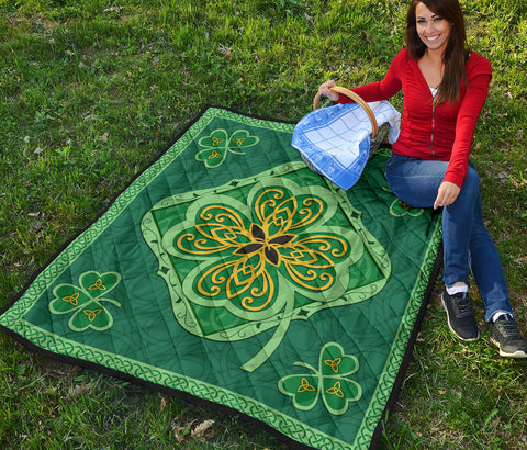 Irish Shamrock Quilt 3