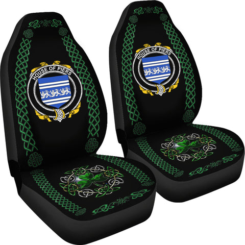 Piers Ireland Shamrock Celtic Irish Surname Car Seat Covers TH7