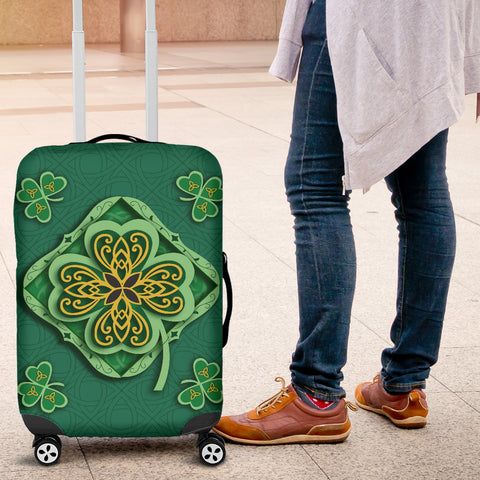 Irish Shamrock Luggage Covers 4