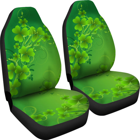 Irish Shamrock St. Patrick Day Car Seat Covers