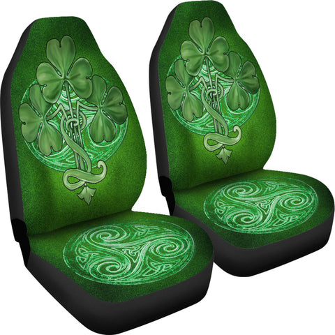 Glorious Shamrock™ Celtic Knot Car Seat Covers - Universal Fit - TH7