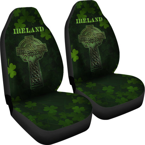 Irish Celtic Claddagh Cross Car Seat Covers 4