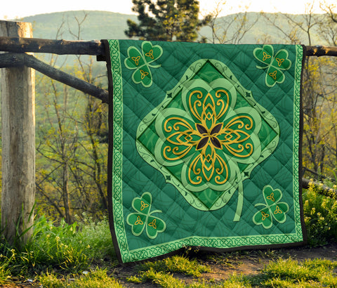 Irish Shamrock Quilt 5