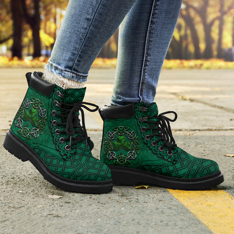 Image of Irish All Season Boots, Ireland Celtic Shamrock Boots | 1stireland | Footwear