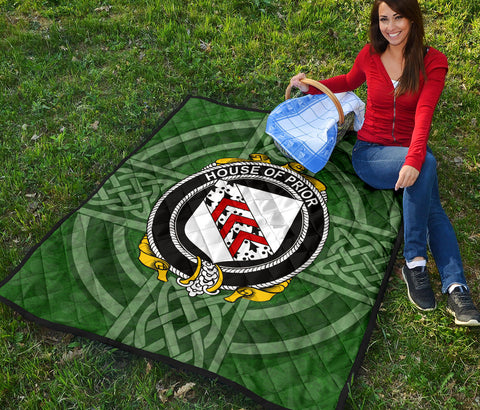 Ireland Clan Quilt - Prior | 1stireland.com
