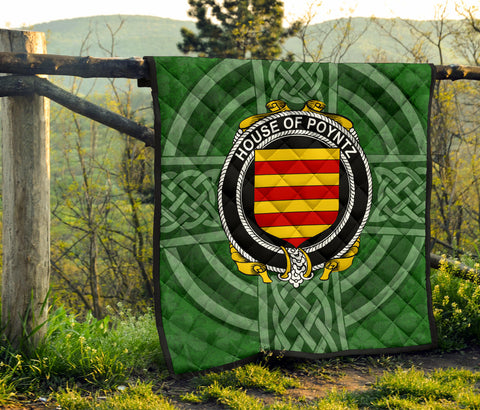Image of Ireland Clan Quilt - Poyntz | 1stireland.com