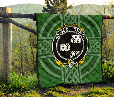 Ireland Clan Quilt - Fitz-Rice | 1stireland.com