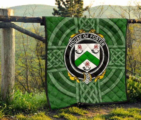 Image of Ireland Clan Quilt - Foster | 1stireland.com