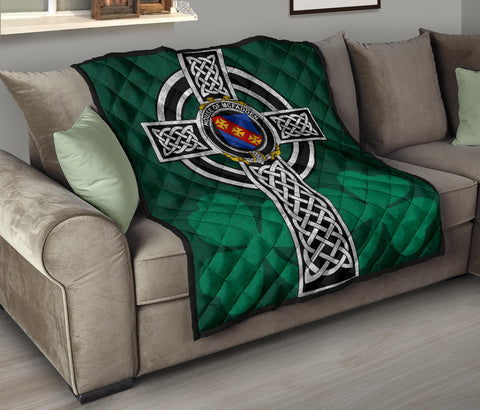 Irish Quilt, McFadden or McFadyen Family Crest Premium Quilt TH47