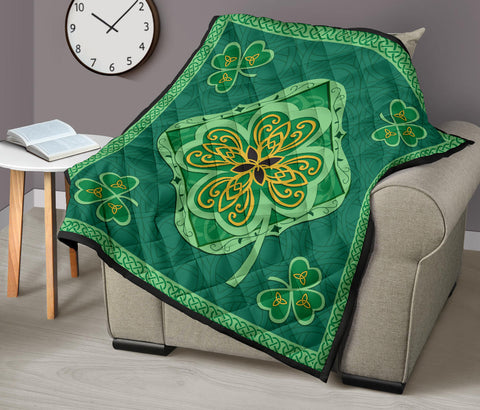 Irish Shamrock Quilt 6