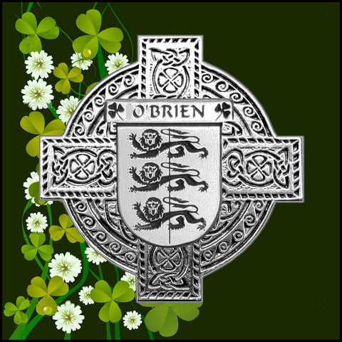 Irish O'Brien Family Crest Coat Of Arms Quare Decanter