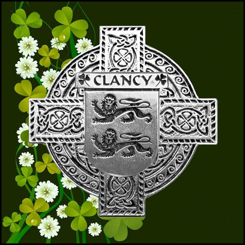 Irish Clancy Family Crest Coat Of Arms Quare Decanter