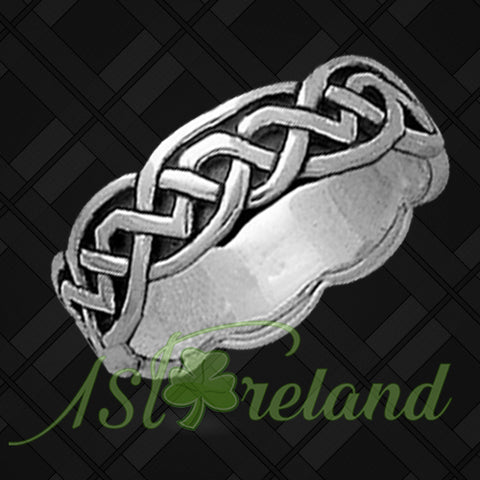 Celtic Ring - Celtic Knot Ring TH7