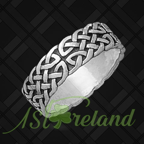 Celtic Interlace Ring - Celtic Knot Ring TH7