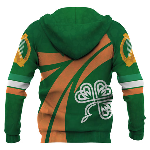 Ireland Champion Rugby Hoodie back