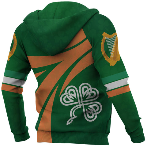 Image of Ireland Champion Rugby Hoodie back 2