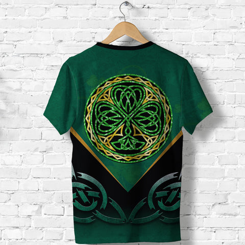 Irish Celtic Knot T Shirt Shamrock K4