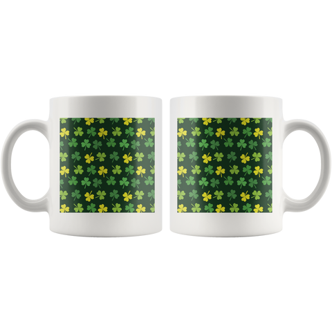 Irish Shamrock Cup, St. Patrick's Day Mug Th2