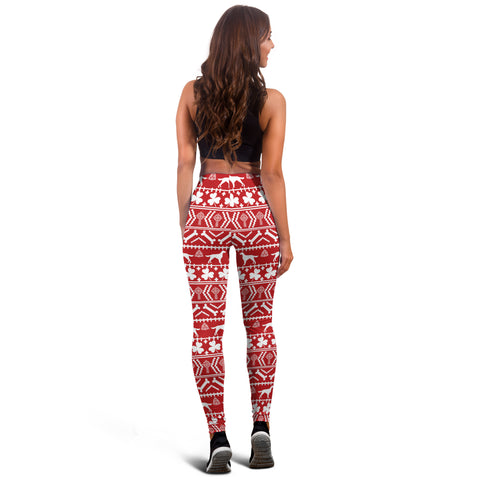 Irish Symbols Mixing Christmas Women's Leggings