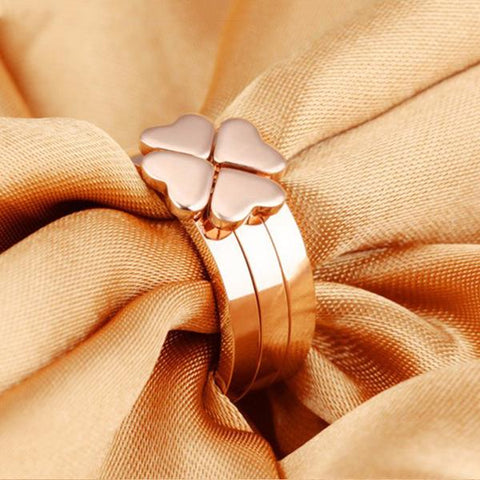 Four-Leaf Clover 3 in 1 Special Ring