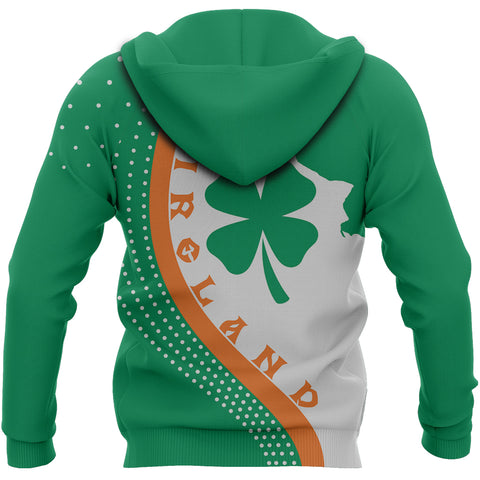 Image of Irish Lucky Clover Hoodie Generation II K60
