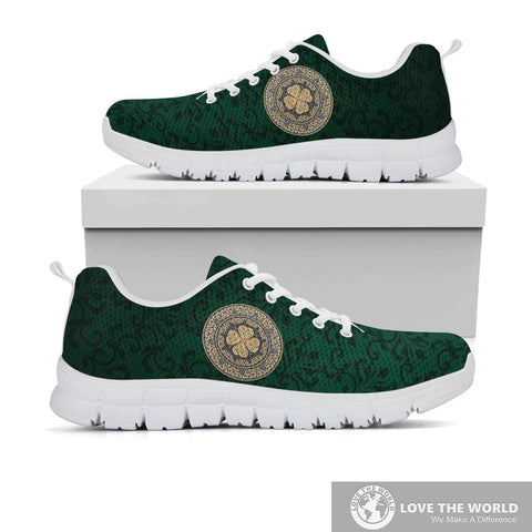 Ireland Sneakers Celtic Four Leaf Clover  | 1stireland.com