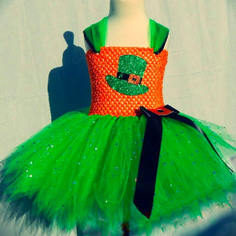 St. Patricks Day Tutu, Leprechaun Tutu, Irish Tutu, Clover Tutu, Shamrock Tutu, St Patricks Day Dress, Leprechaun Dress, Green Dress Th7