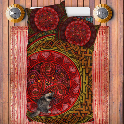 Celtic Bedding Set - Celtic Sun And Moon | Special Custom Design