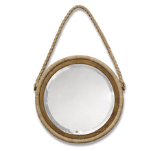 Load image into Gallery viewer, Bayview Hanging Rope Mirror