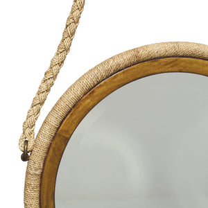 Bayview Hanging Rope Mirror