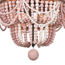Load image into Gallery viewer, Malibu Chandelier / Blush