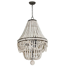 Load image into Gallery viewer, Malibu Chandelier / White